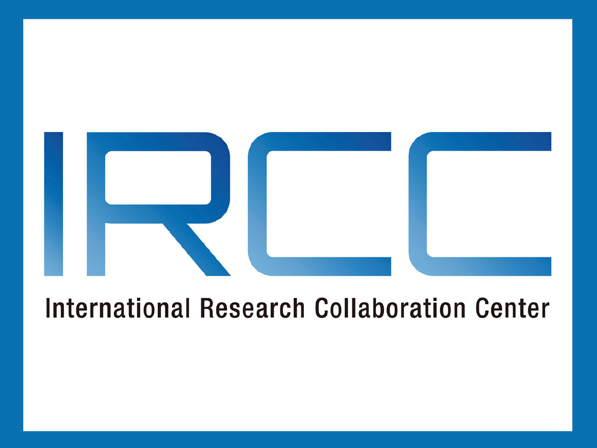 Banner image of the International Research Collaboration Center(IRCC)